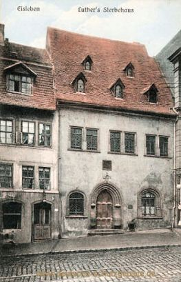 Eisleben, Luthers Sterbehaus