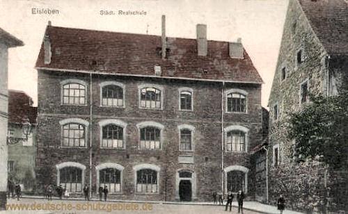 Eisleben, Städtische Realschule