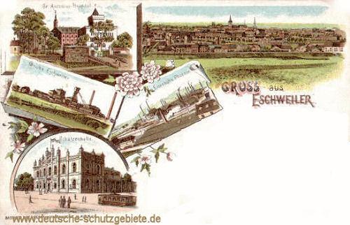 Eschweiler, Grube Eisenhütte, Grube Phönix, Schützenhalle