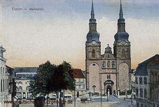 Eupen, Marktplatz