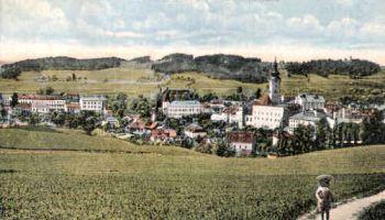 Freistadt Ob.-Oe. vom Manzenreitherberg