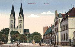 Halberstadt, Domplatz, Dom, Martinikirche