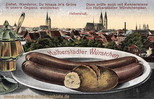Halberstadt, Halberstädter Würstchen