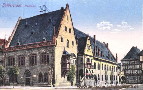 Halberstadt, Rathaus