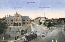 Halberstadt, Realgymnasium, Städt. Badeanstalt