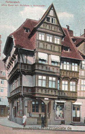 Halberstadt, Stelzfußhaus