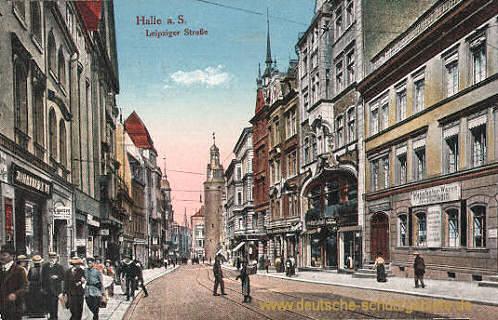 Halle, Leipziger Straße