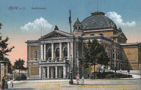 Halle, Stadttheater