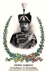 Johann Albrecht Herzog-Regent von Braunschweig