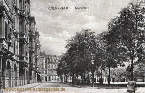 Kalk, Marktplatz