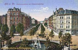 Köln, Barbarossaplatz mit Hohenstaufenring