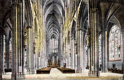 Köln, Dom, Inneres