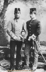 Kronprinzen Rudolf und Wilhelm, 1883