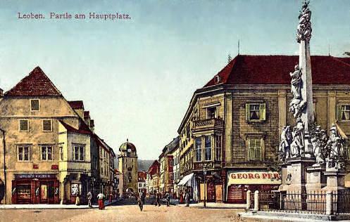Leoben, Hauptplatz