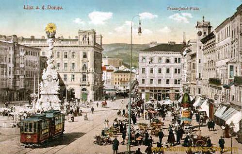 Linz a. d. Donau, Franz-Josef-Platz