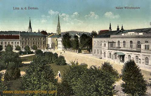 Linz a. d. Donau, Kaiser Wilhelmplatz