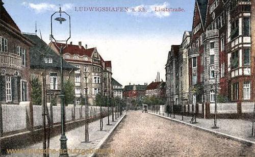 Ludwigshafen, Lisztstraße