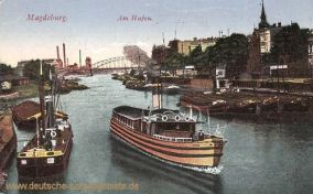 Magdeburg, Am Hafen