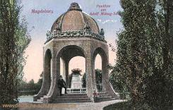 Magdeburg, Pavillon am Adolf Mittag-See