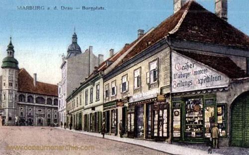 Marburg a. d. Drau, Burgplatz
