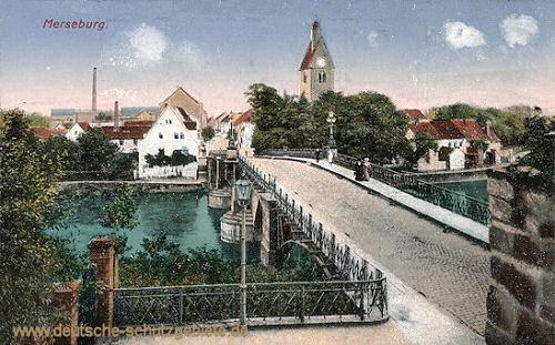Merseburg, Waterloo-Brücke