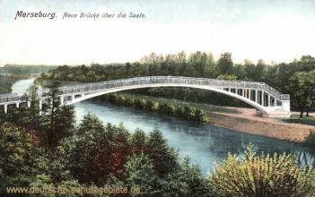 Merseburg, Neue Brücke über die Saale