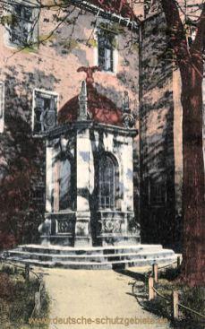 Merseburg, Rabenstein im äußeren Schlosshof