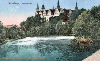 Merseburg, Saalepartie