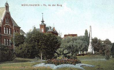 Mühlhausen i. Thür., An der Burg