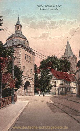 Mühlhausen i. Thür., Inneres Frauentor