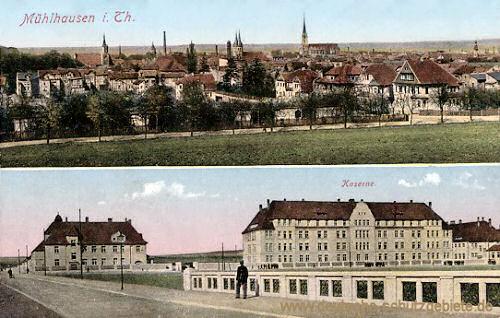 Mühlhausen i. Thür., Kaserne