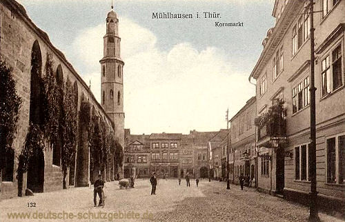 Mühlhausen i. Thür., Kornmarkt