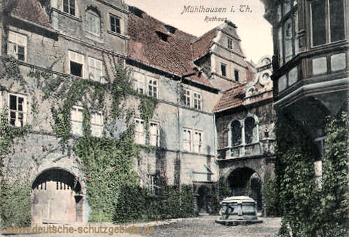 Mühlhausen i. Thür., Rathaus