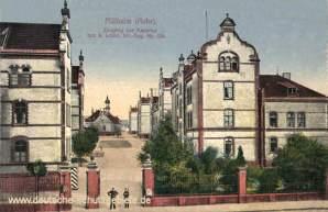 Mülheim an der Ruhr, Kaserne des Infanterieregiment Nr. 159