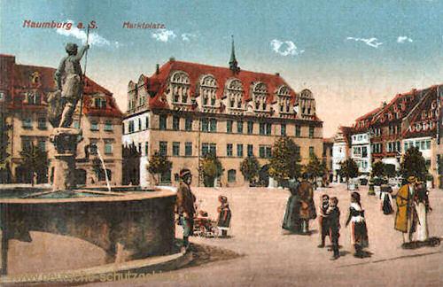 Naumburg, Marktplatz