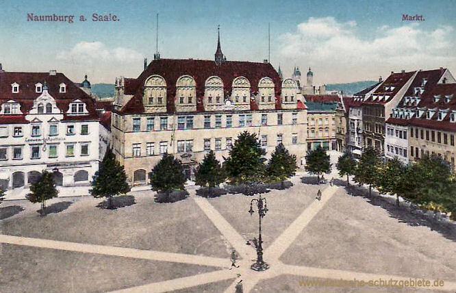 Naumburg a. Saale, Markt