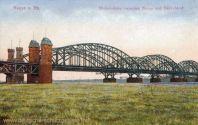 Neuss a. Rh., Rheinbrücke zwischen Neuss und Düsseldorf