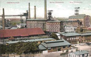 Oberhausen, Zeche Concordia, Mine Concordia