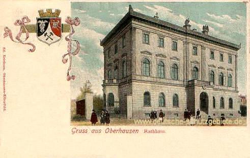 Oberhausen, Rathaus