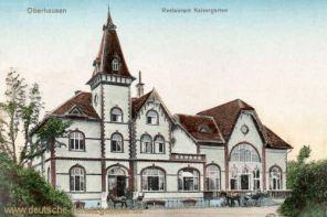 Oberhausen, Restaurant Kaisergarten