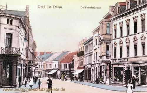 Ohligs, Düsseldorferstraße