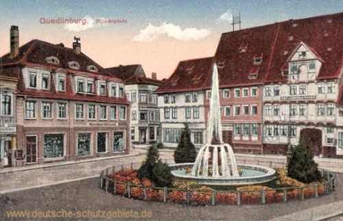 Quedlinburg, Pölkenplatz