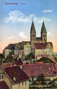 Quedlinburg, Schloss
