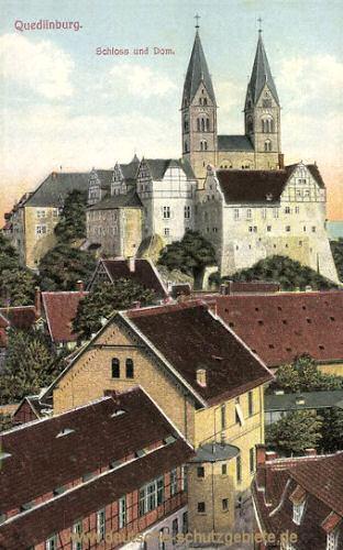 Quedlinburg, Schloss und Dom
