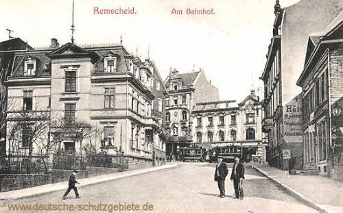 Remscheid, Am Bahnhof