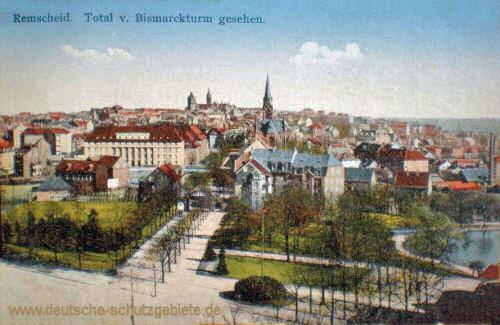Remscheid, Total vom Bismarckturm gesehen