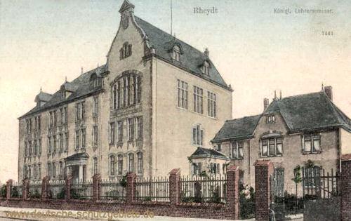 Rheydt, Königliches Lehrerseminar