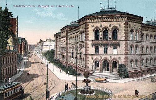 Saarbrücken, Bergamt mit Triererstraße