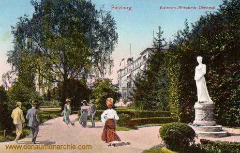 Salzburg, Kaiserin Elisabeth-Denkmal
