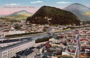 Salzburg vom Elektrischen Aufzug